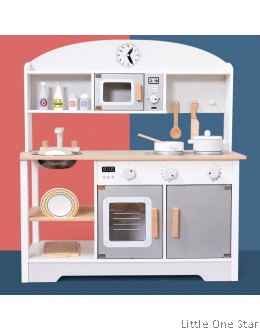 Kitchen: Japanese brand woods color (Suitable for boy & girl)