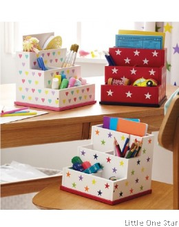 School: Stationaries Organizer