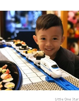 Rotary Sushi Train - 3 section