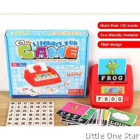 Make Learning Fun: English Literacy Children Spelling Fun Family Game Toys