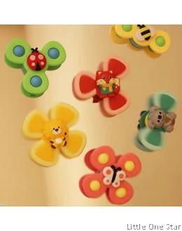 Animals or Bugs Spins set (3 in a set)