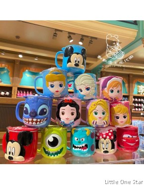 Disney cup with lid (stainless steel inner) 260ml