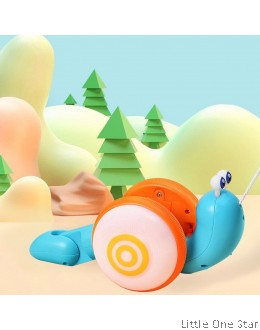 Pull and Drag Snail with colors
