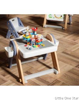 Lechin Multifunction Lego table and chair (FREE LEGO)