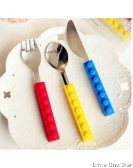 Lego 3-Pieces Cutlery Set