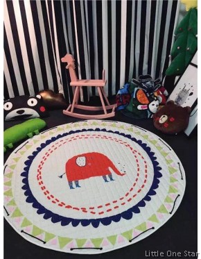 2 in 1 Play Mat plus Toy Storage Bag