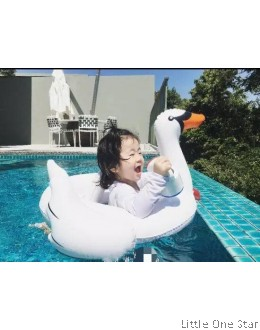 Swimming Float- White Swan