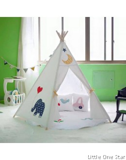 Embroidery Elephant Teepee