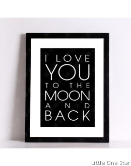 Painting | Love you to the moon and back- Model 1