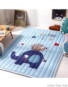 Crawling Mat | Elephant Love