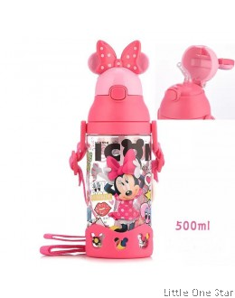 Minnie Pink Bow Water Bottle- 500ml