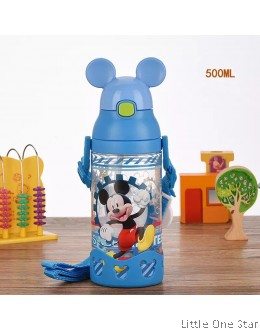 Mickey in Blue Cap water bottle- 500ml