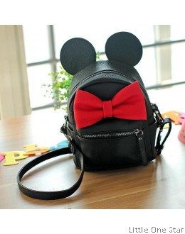 Mickey Big Bow School Bag