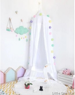 Canopy Curtain | White