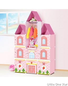 Multi-Purpose Storage Shelf - Ice cream Strawberry theme 10 shelfs