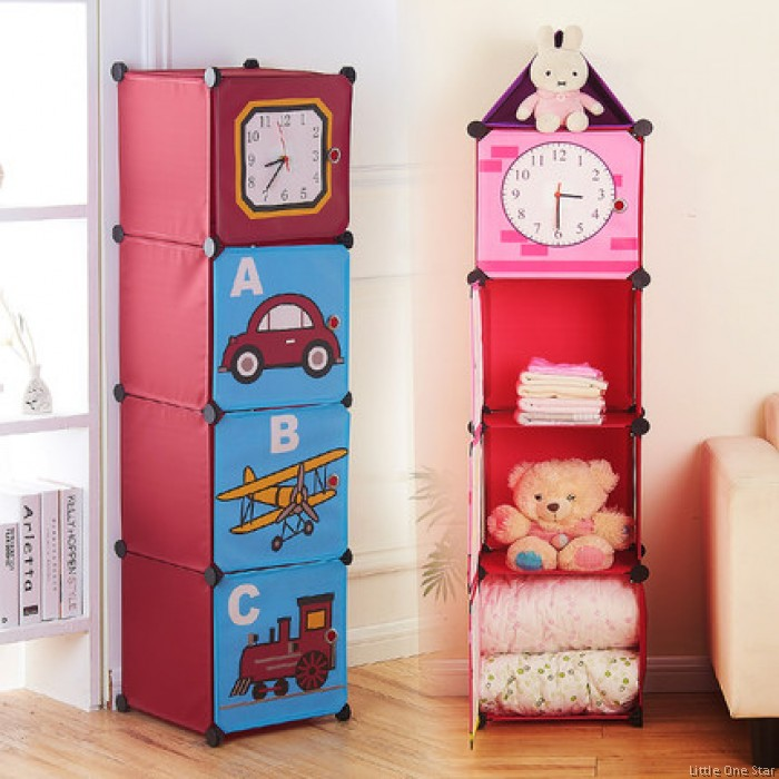 Multi Purpose Storage Shelf   Clock Tower 4 Shelf