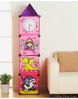 Multi-Purpose Storage Shelf - Clock tower 4 shelf