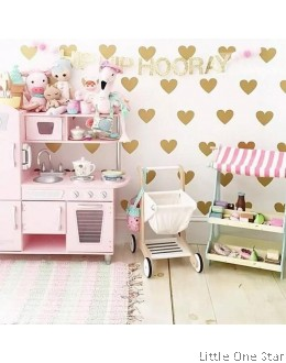 Wall Decor I Love Shape I PREMIUM (30 pcs)