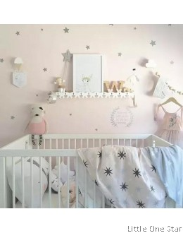 Wall Decor I Stars I PREMIUM SMALL Size (24 pcs)