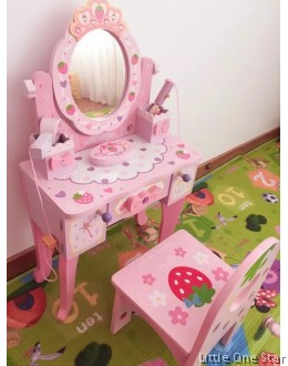 Wooden Toys: Make Up Set (BIG) exclude chair