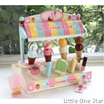 Wooden Toys: Ice Cream Shop