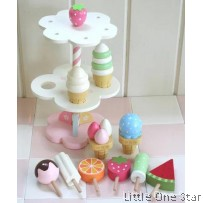 Wooden Toys: Ice Cream Tower