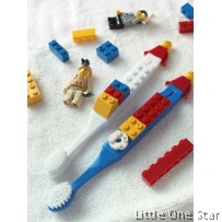Baby Gear: Lego Design Toothbrush with Lego Cap Holder
