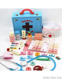 Toys: Doctor set (BLUE KIT)