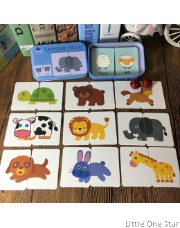 Flash Card Puzzles (Comes in 4 Designs)