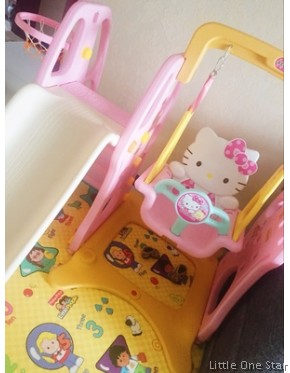 Kitty Theme Swing and Slide
