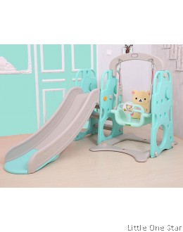 Bear Theme Swing and Slide