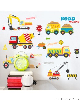 Wall Stickers : Construction Theme