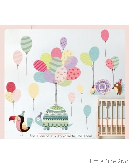 Wall Stickers: Balloons Animals