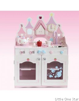 1. MG Big Castle Theme Kitchen Set (Comes with Music Plate)