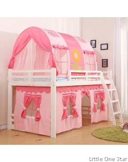 Canopy + Curtain bedding set for bunk bed