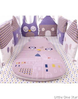 Baby Gear: Owl and House bumper