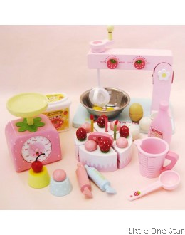 1. Wooden Toys: Baking Set