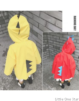 Rain Coat: The Red or Yellow dinasour style