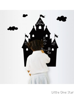 Wall Decor: Castle Black Board effect sticker (Write using chalks)