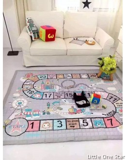Crawling Mat / Play Mat: Ladder Game (Comes with Dice)