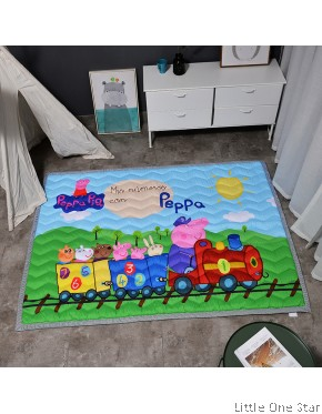 Crawling Mat: Peppa Train