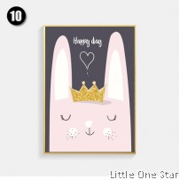 Painting I Rabbit with Crown