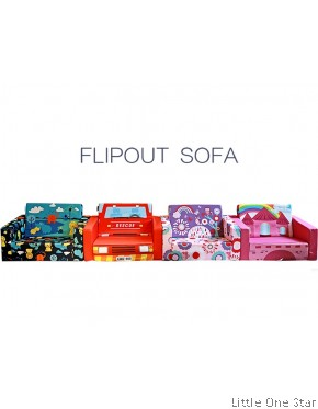Sofa: Flip Out Sofa (Sofa Bed)