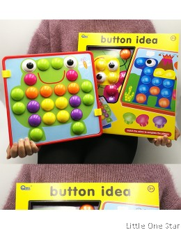 Button Idea stimulation brain game