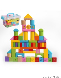 100 pcs building block
