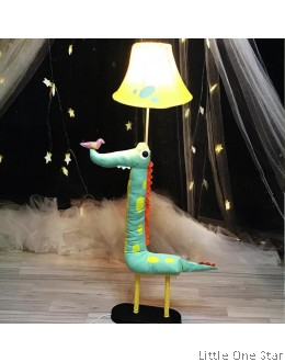 Night Light: Dinosaur with a bird (floor height)