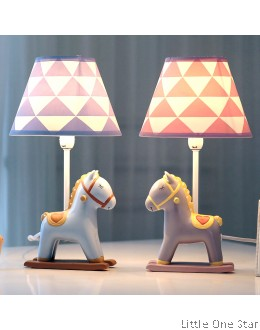 Night Light: Rocking Horse Table Lamp