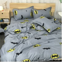Bedding: Many Designs in option (Kids Single)