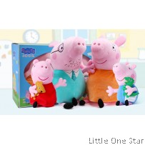 Peppa Pig Family Soft toys (BIG)