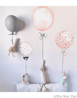Wall Decor I Watermark Balloon (3 balloons a set)